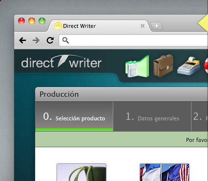 Direct Writer 1.0, disponible también en SaaS