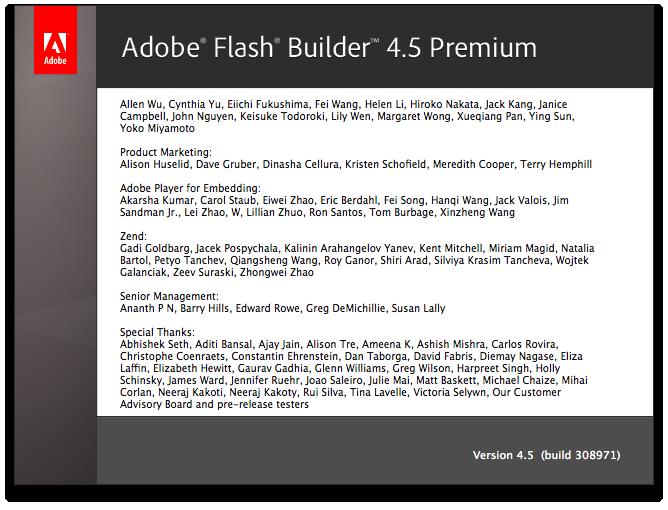 Flash Builder 45 Premium Credits